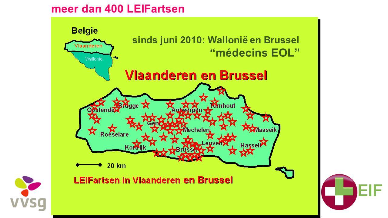 sinds juni 2010: Wallonië en Brussel