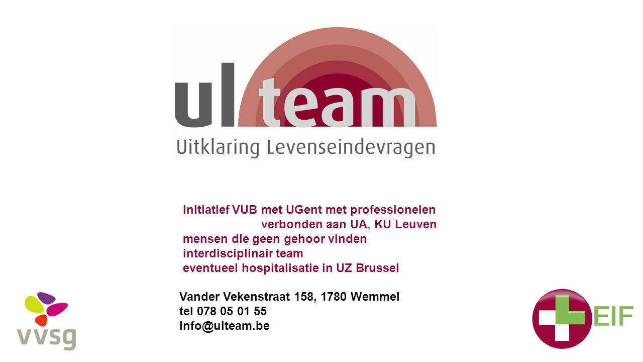 initiatief VUB met UGent met professionelen