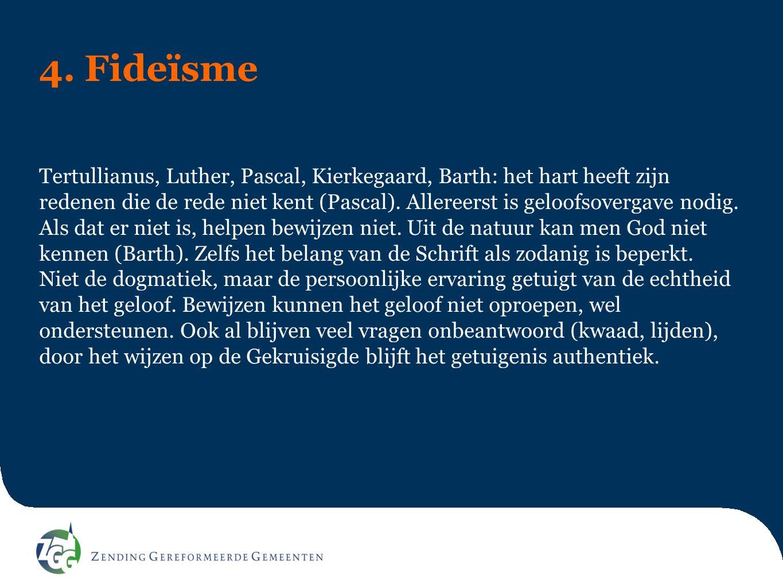 4. Fideïsme
