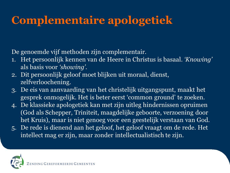 Complementaire apologetiek