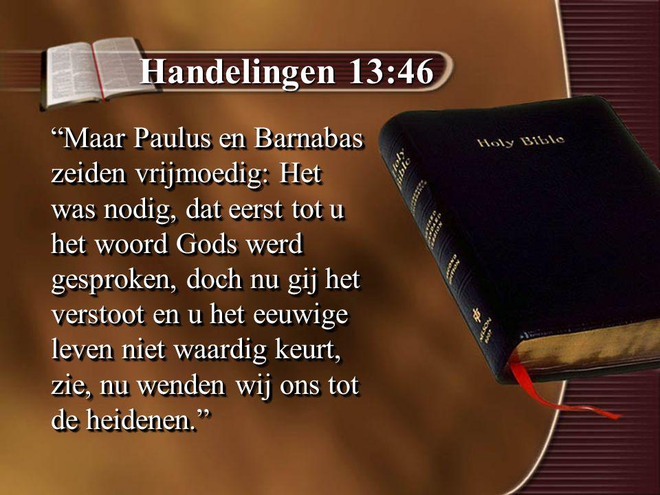 Handelingen 13:46