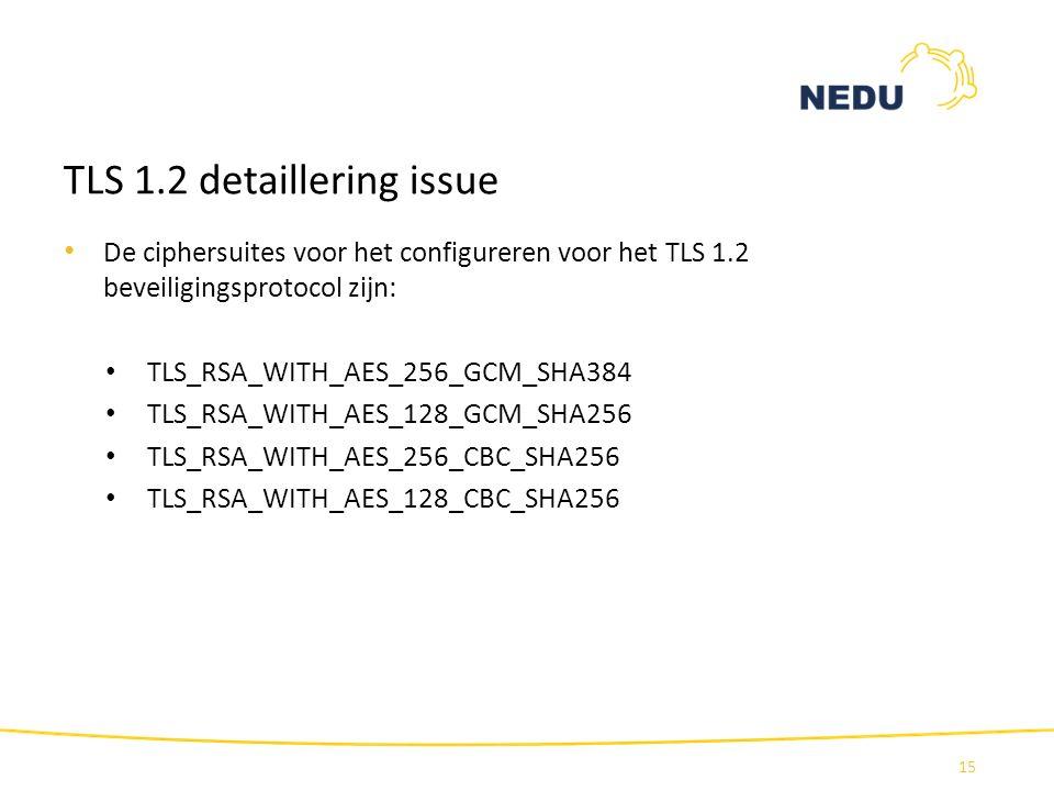 TLS 1.2 detaillering issue