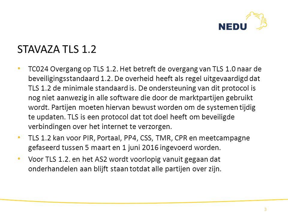 STAVAZA TLS 1.2