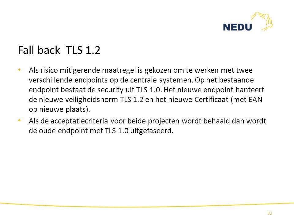 Fall back TLS 1.2