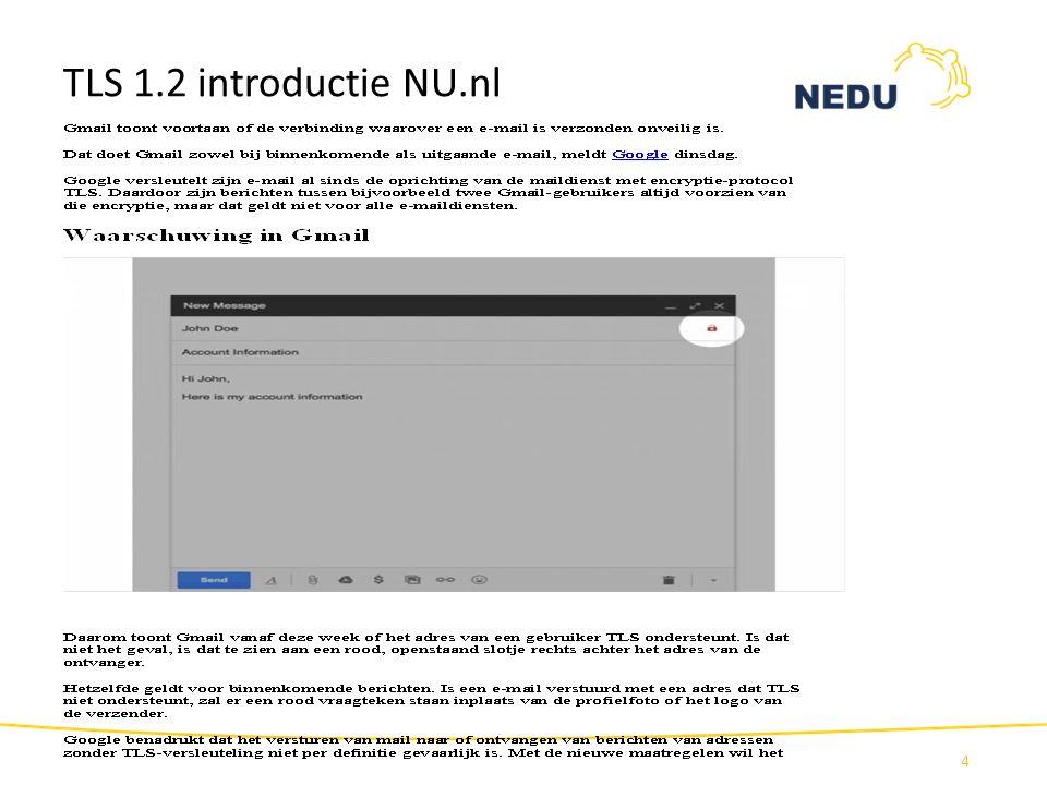 TLS 1.2 introductie NU.nl