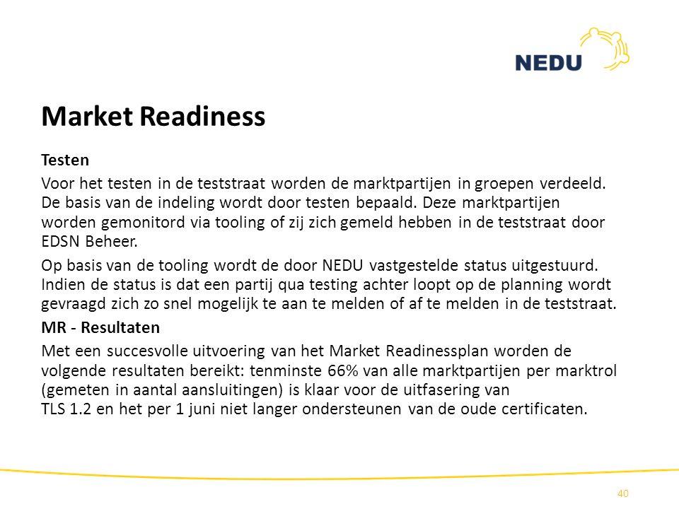 Market Readiness Testen
