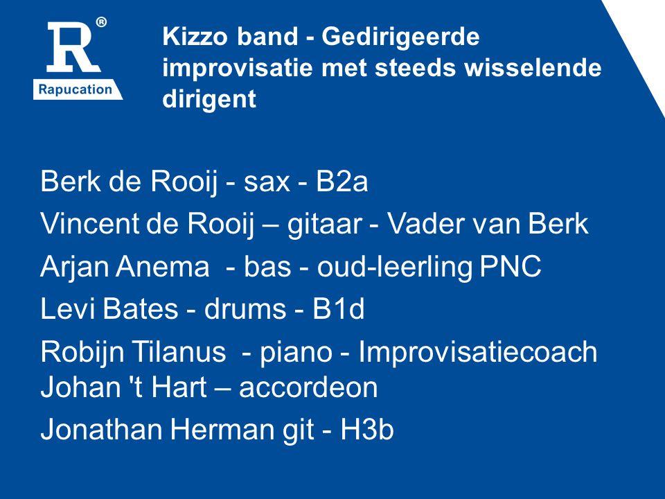 Kizzo band - Gedirigeerde improvisatie met steeds wisselende dirigent