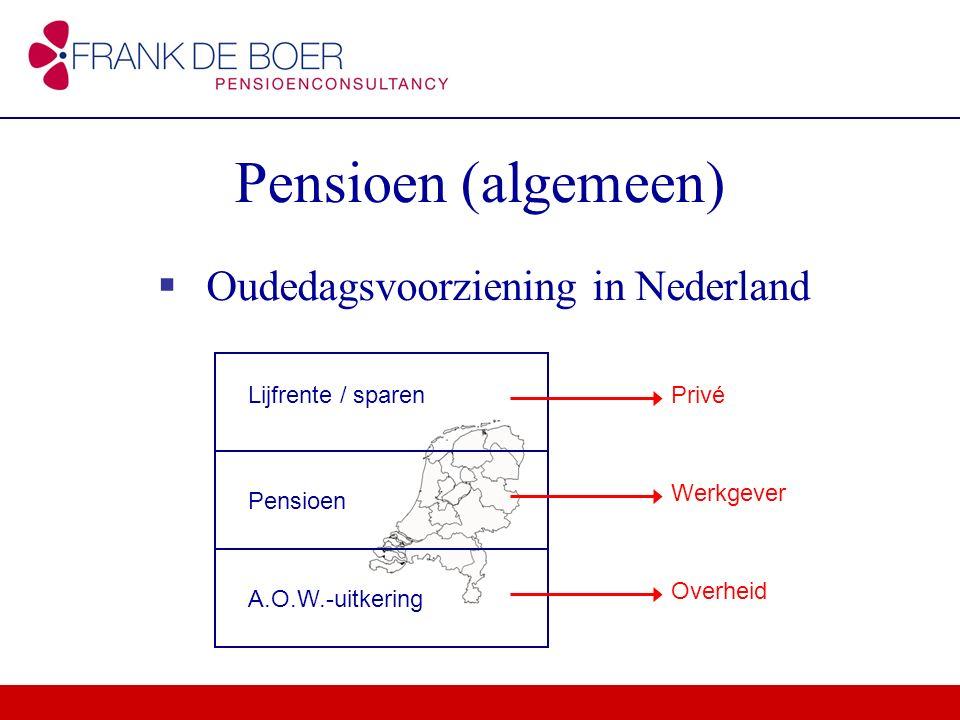 Oudedagsvoorziening in Nederland
