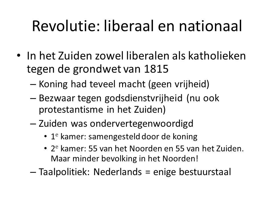Revolutie: liberaal en nationaal