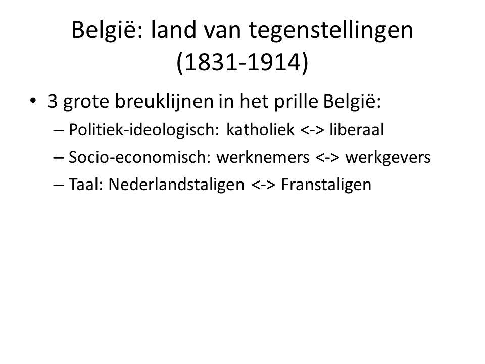 België: land van tegenstellingen (1831-1914)