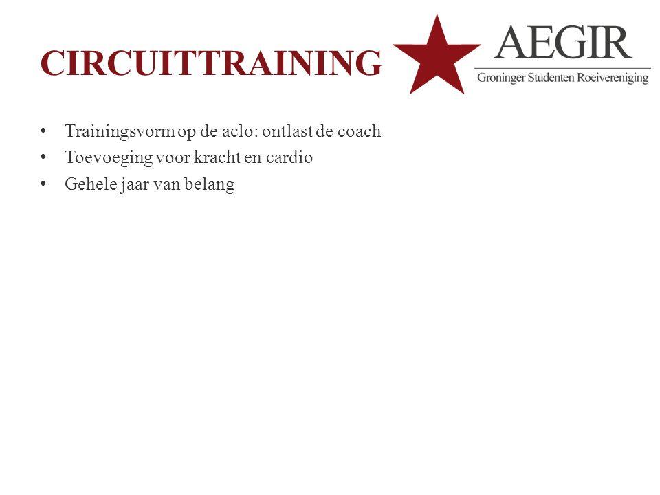 CIRCUITTRAINING Trainingsvorm op de aclo: ontlast de coach