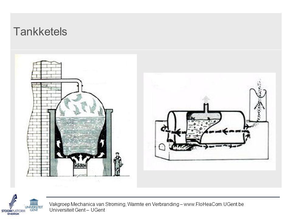 Tankketels Vakgroep Mechanica van Stroming, Warmte en Verbranding – www.FloHeaCom.UGent.be.