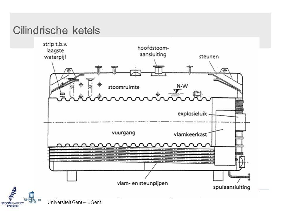 Cilindrische ketels Vakgroep Mechanica van Stroming, Warmte en Verbranding – www.FloHeaCom.UGent.be.
