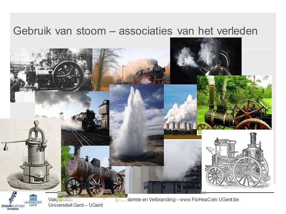 Gebruik van stoom – associaties van het verleden