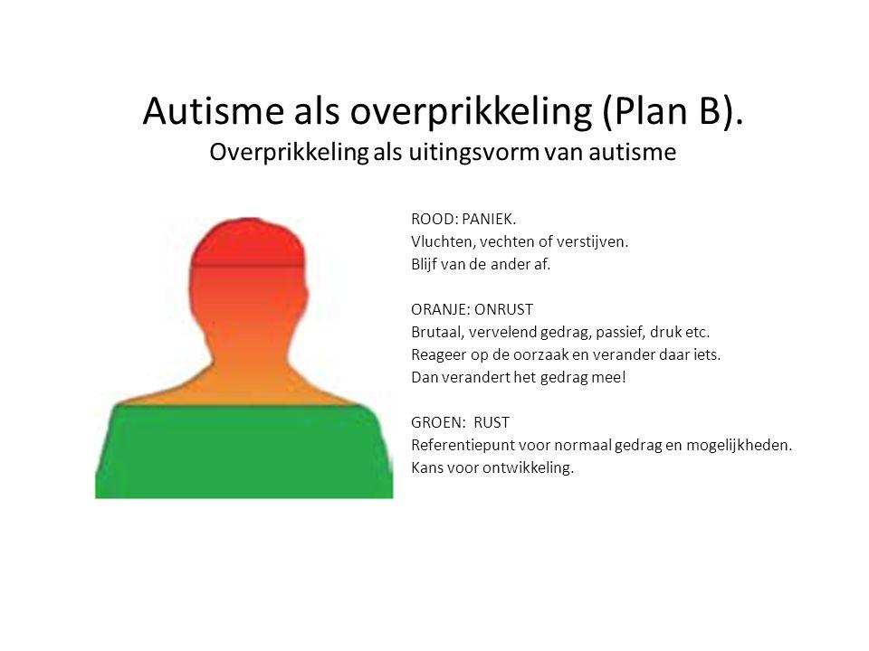 Autisme als overprikkeling (Plan B)