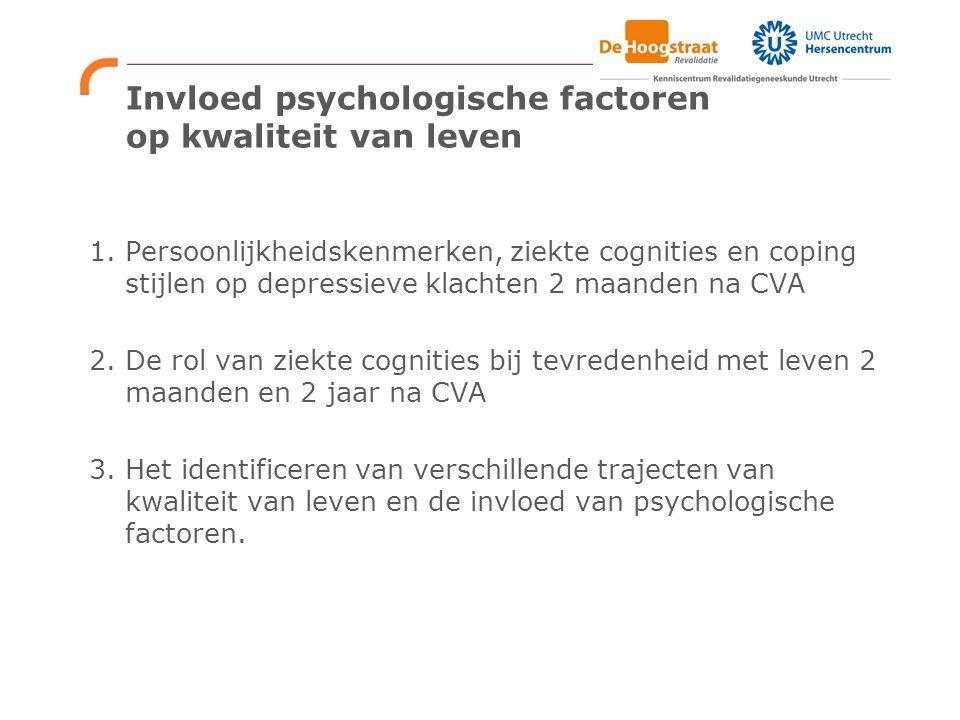 Invloed psychologische factoren op kwaliteit van leven