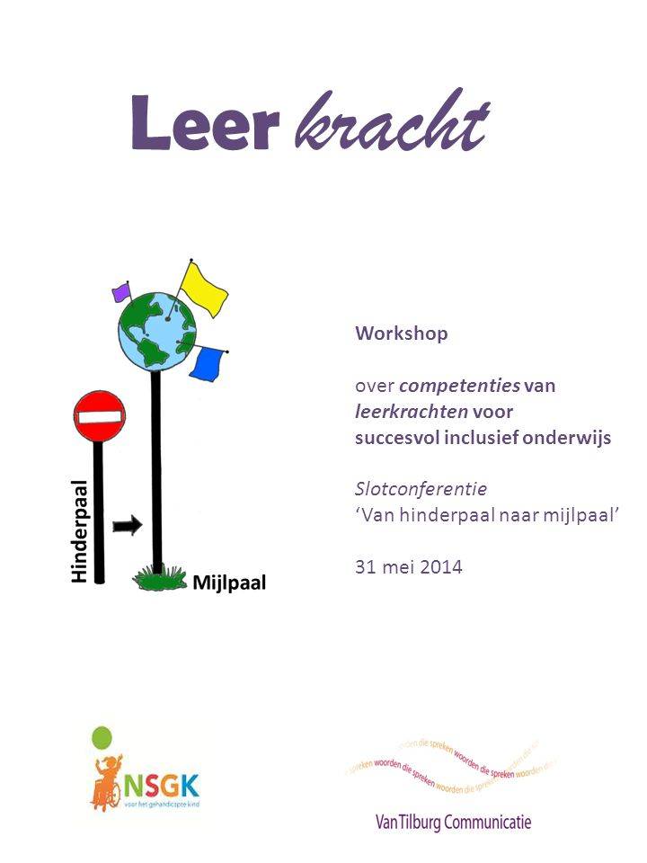 Leer kracht Workshop over competenties van