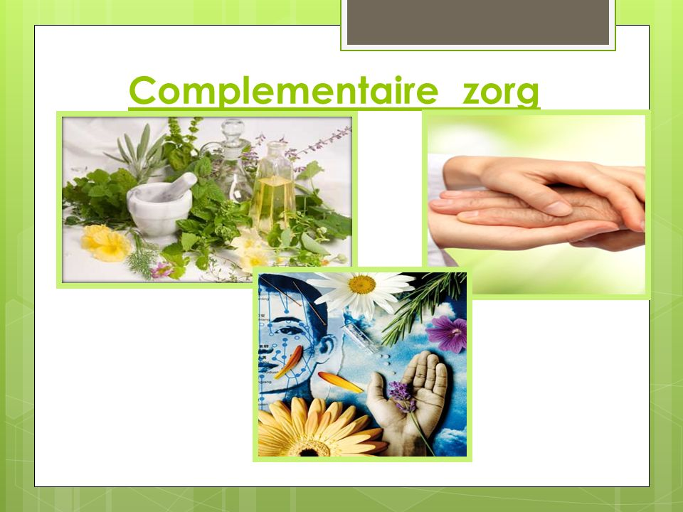 Complementaire zorg
