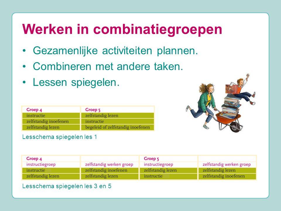Werken in combinatiegroepen