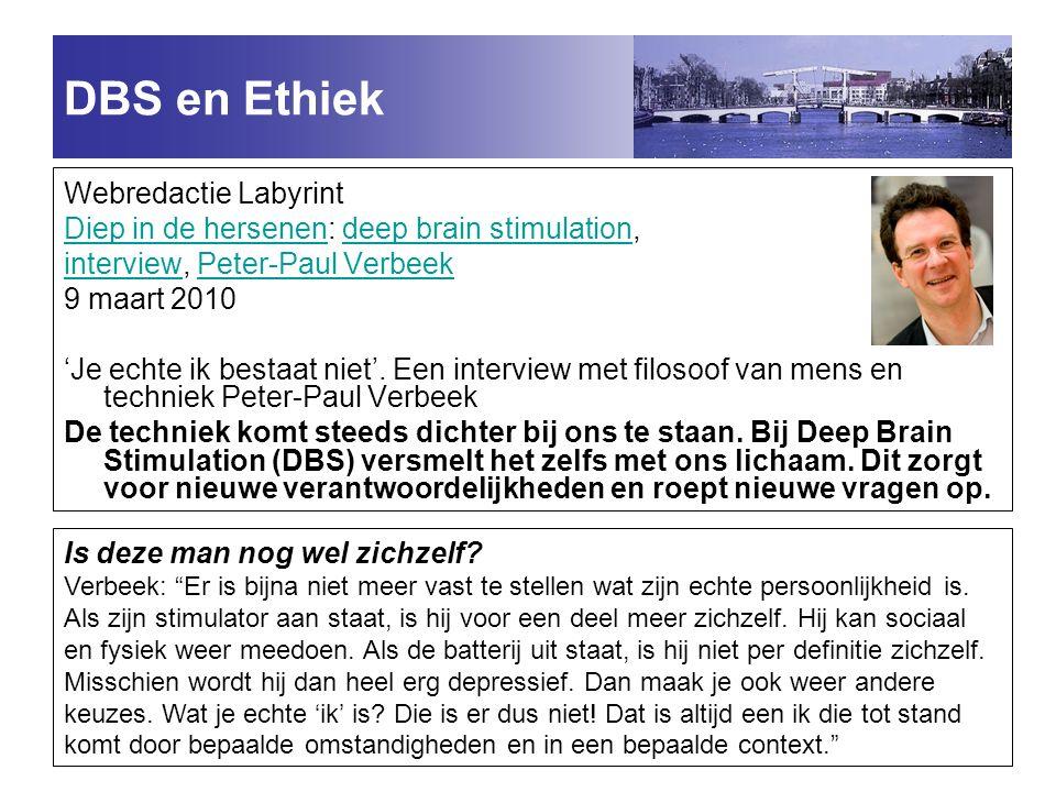 DBS en Ethiek Webredactie Labyrint