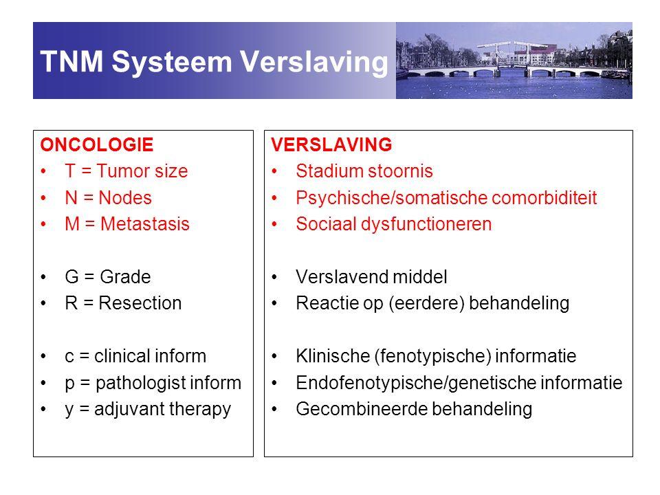 TNM Systeem Verslaving