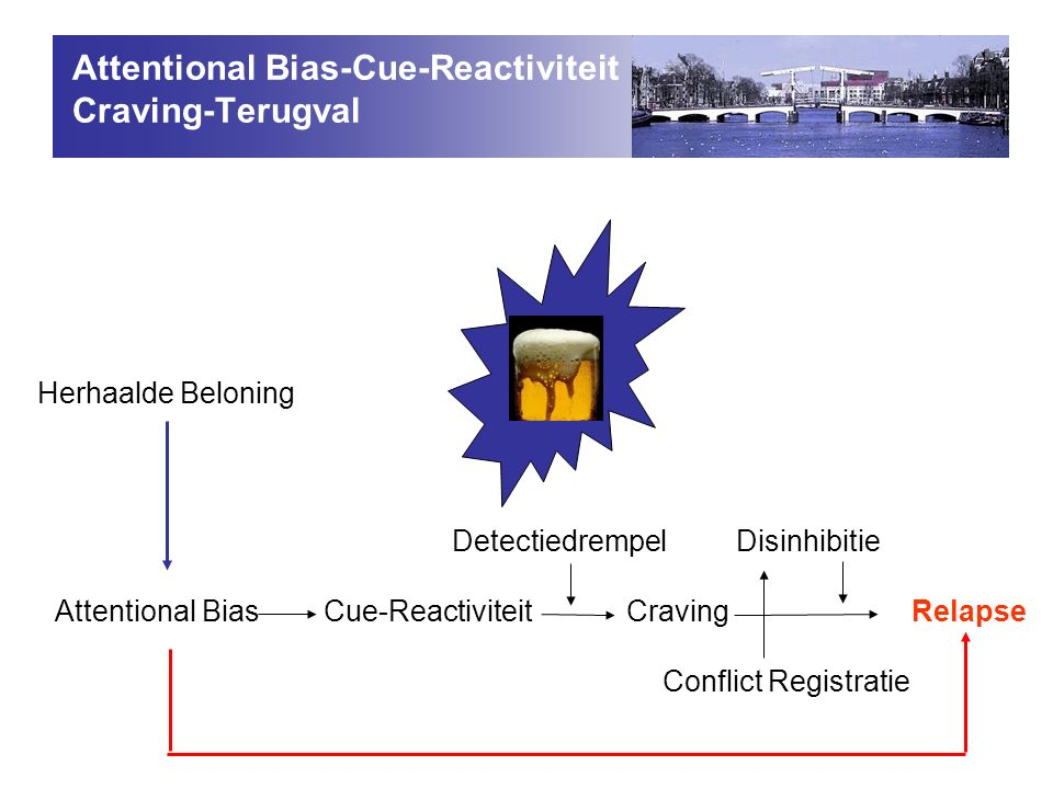 Attentional Bias-Cue-Reactiviteit Craving-Terugval