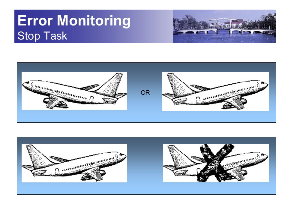 Error Monitoring Stop Task