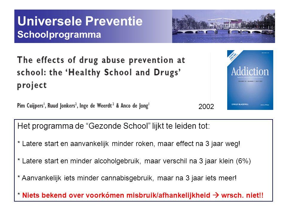 Universele Preventie Schoolprogramma