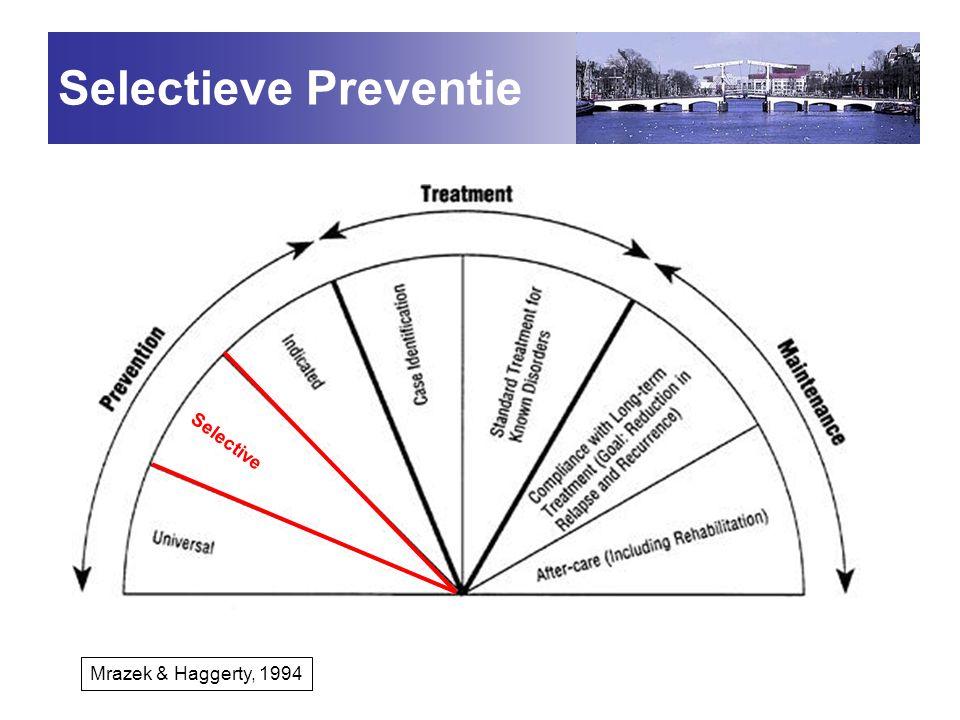 Selectieve Preventie Selective Mrazek & Haggerty, 1994