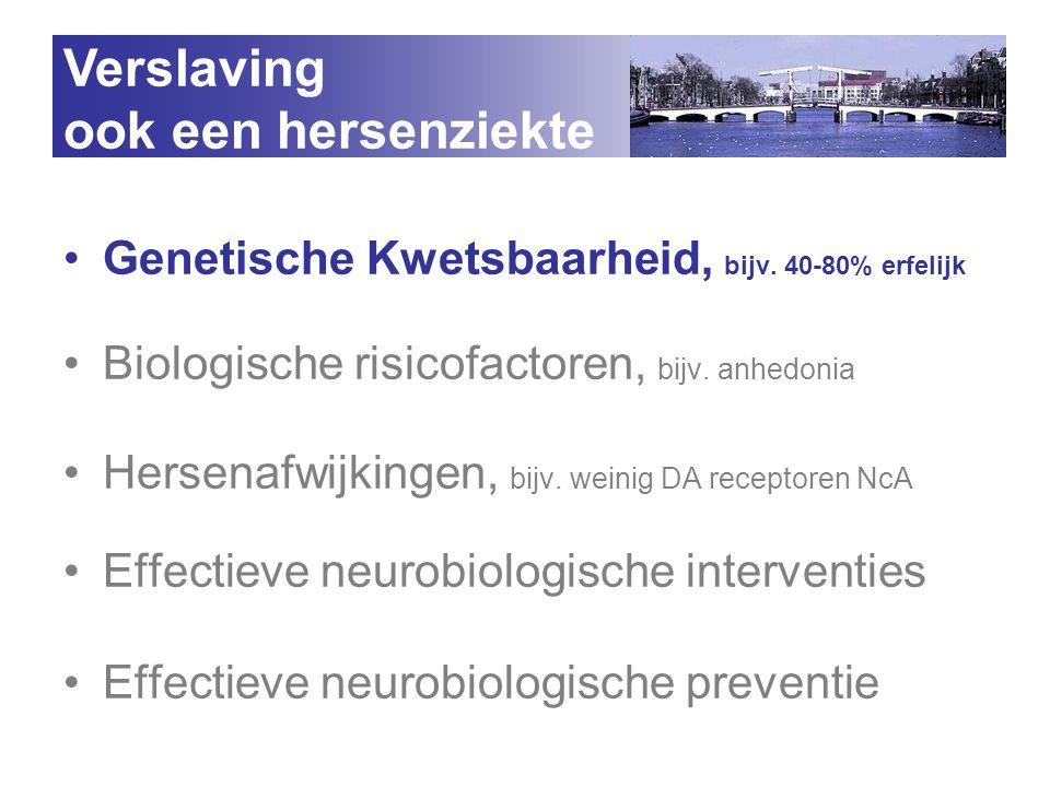 Verslaving ook een hersenziekte