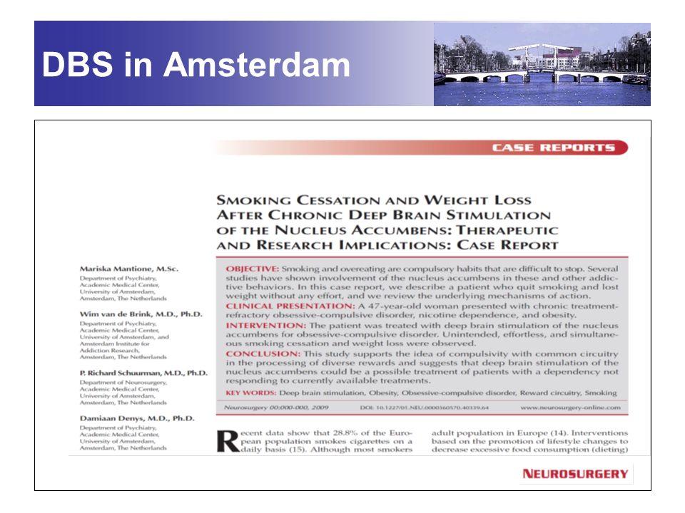 DBS in Amsterdam