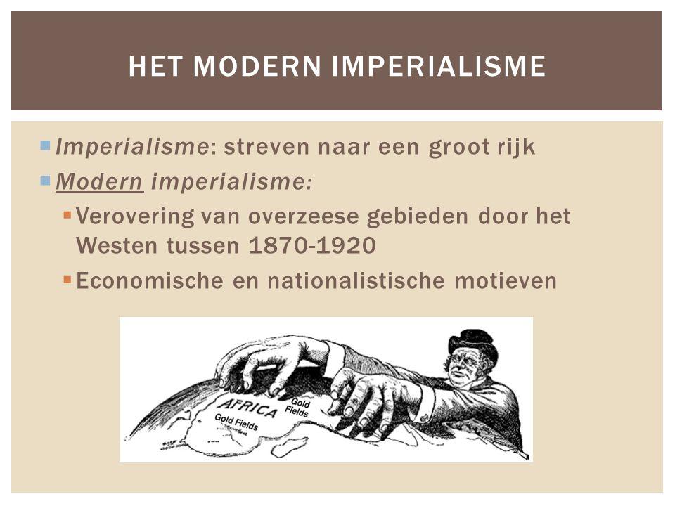 Het modern imperialisme