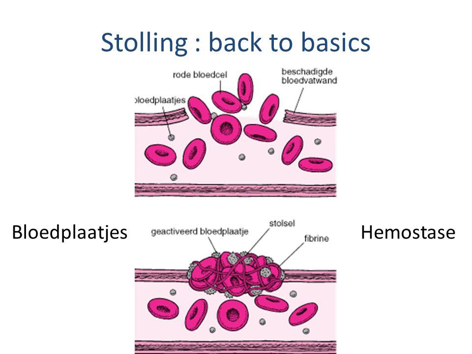 Stolling : back to basics