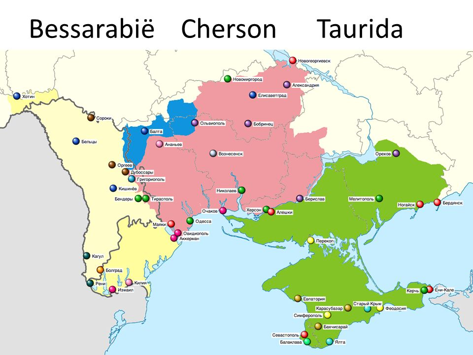 Bessarabië Cherson Taurida