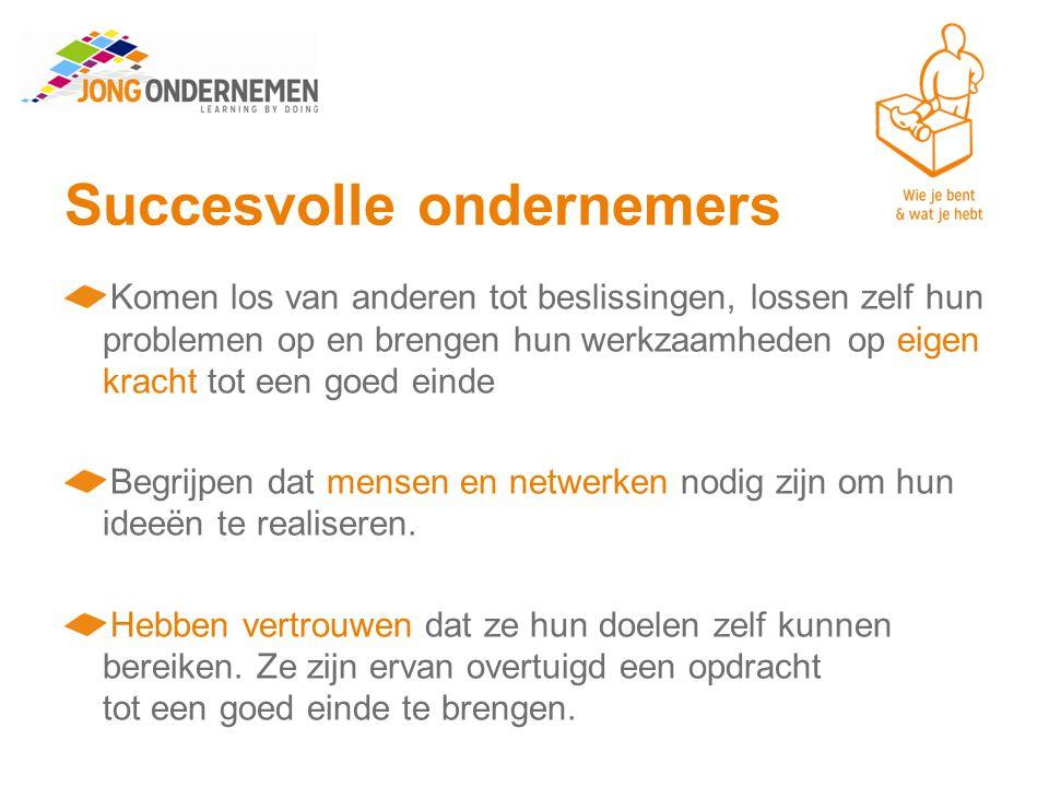 Succesvolle ondernemers