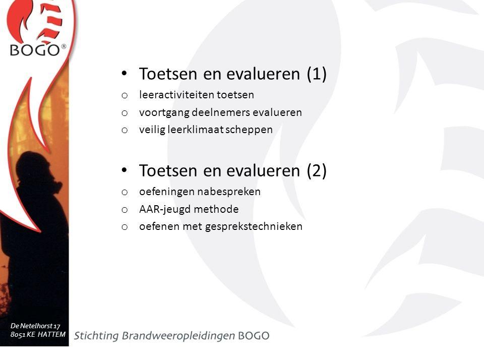 Toetsen en evalueren (1)