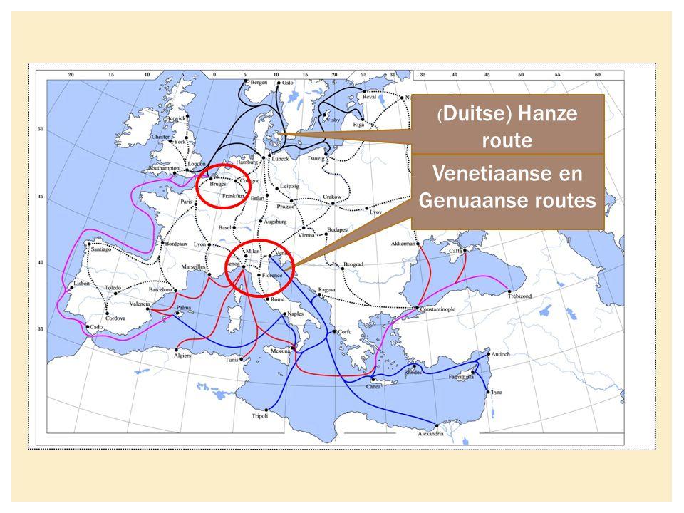 Venetiaanse en Genuaanse routes