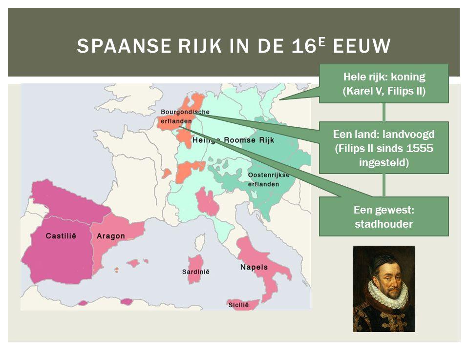 Spaanse rijk in de 16e eeuw