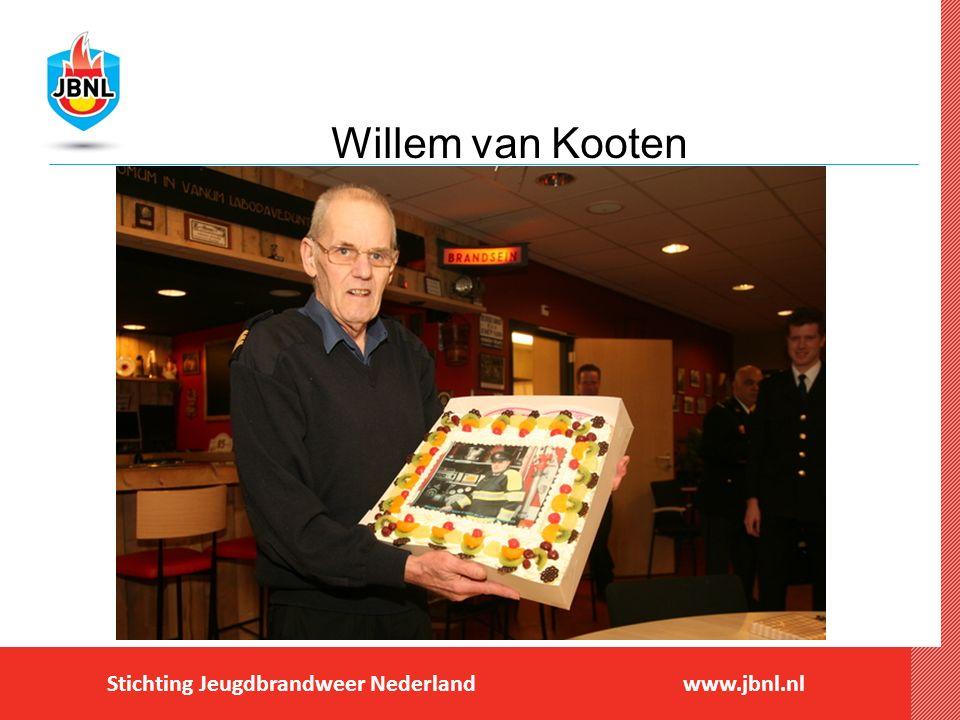 NIEUWS Bedankjes tijdens afscheid Wim van Kooten bij jeugdbrandweer