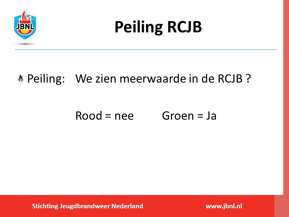Peiling RCJB Peiling: We zien meerwaarde in de RCJB