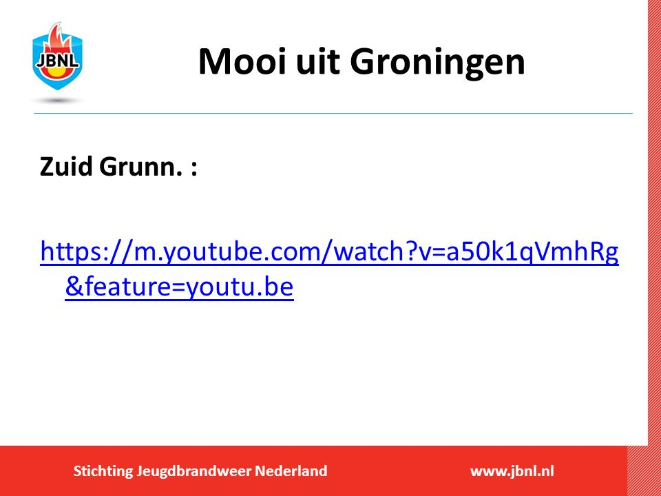 Mooi uit Groningen Zuid Grunn. :