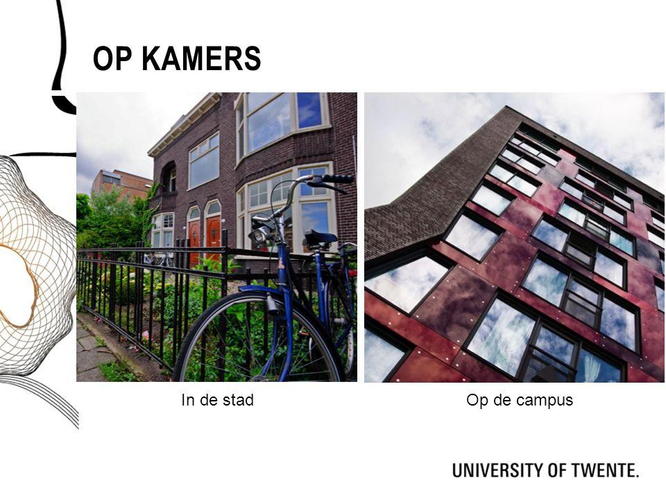 Op kamers In de stad Op de campus