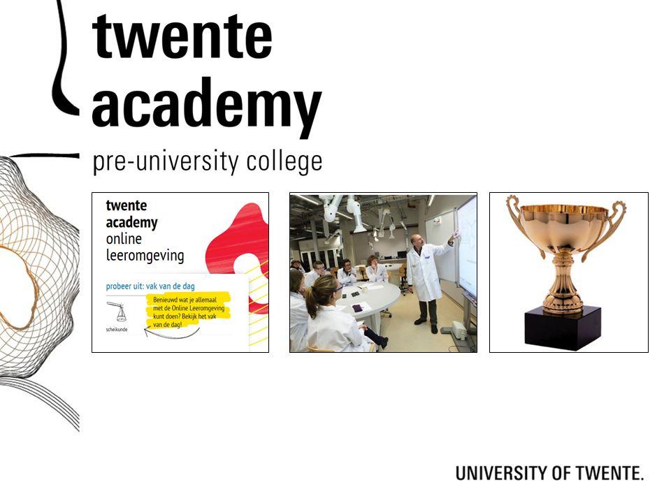 Vertel kort wat Twente Academy voor de scholieren kan betekenen
