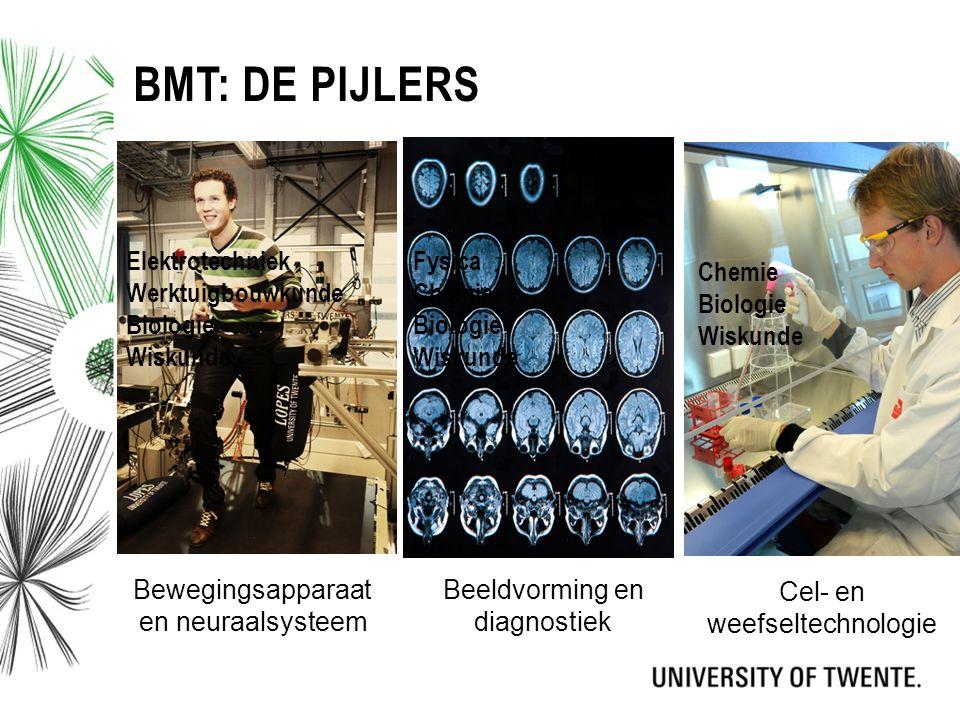 Bmt: De pijlers Elektrotechniek Werktuigbouwkunde Biologie Wiskunde