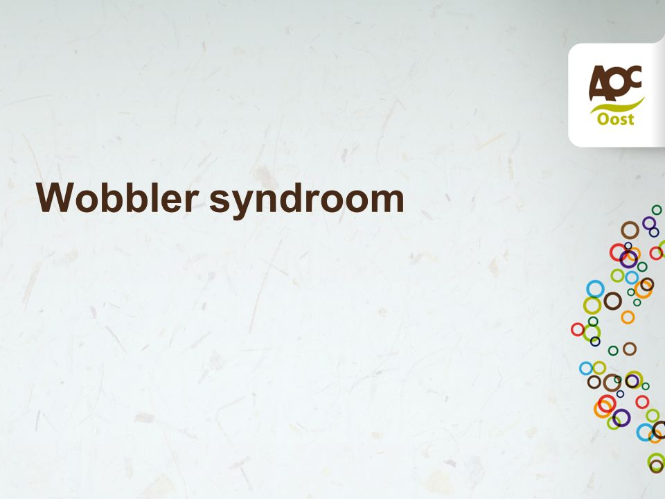 Wobbler syndroom