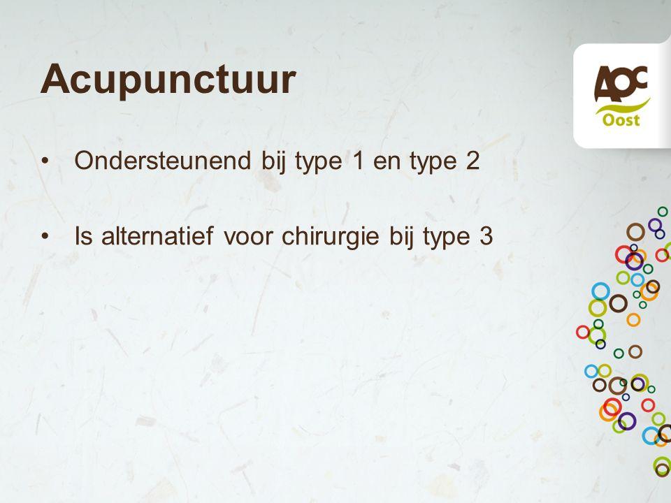 Acupunctuur Ondersteunend bij type 1 en type 2