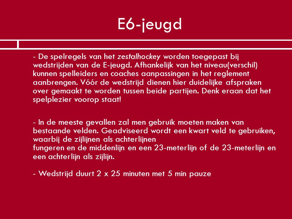 E6-jeugd