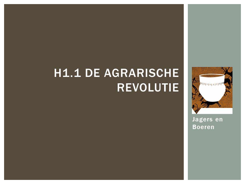 H1.1 De agrarische revolutie