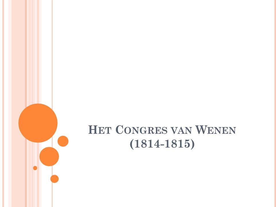 Het Congres van Wenen (1814-1815)