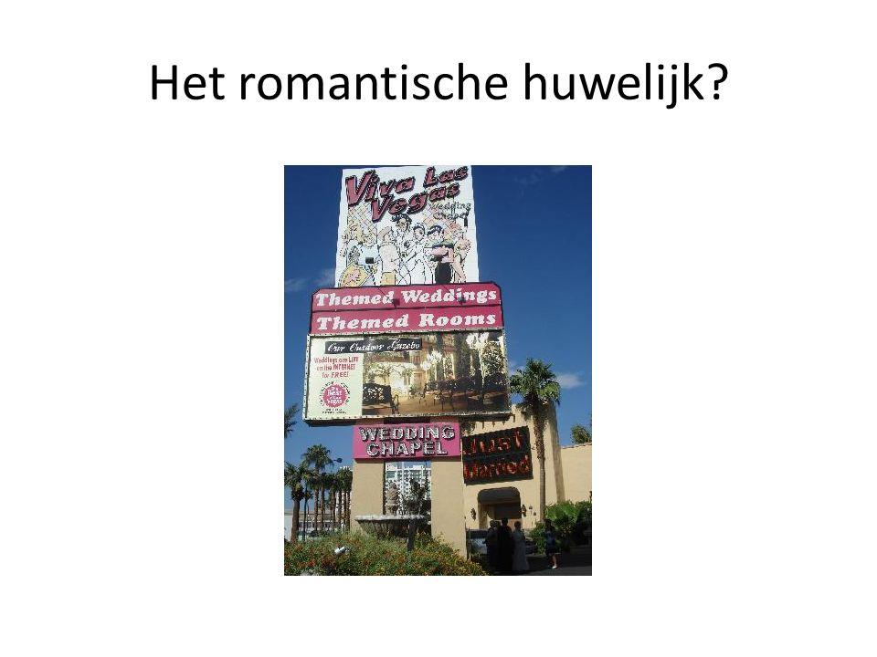 Het romantische huwelijk